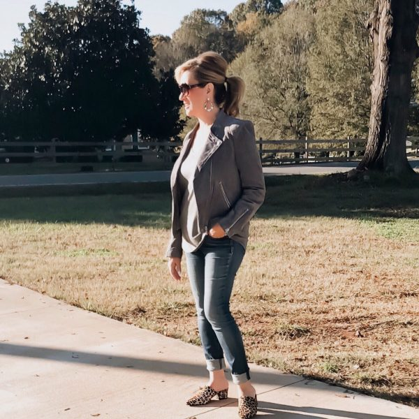 7 Reasons Why You Need This Suede Moto Jacket