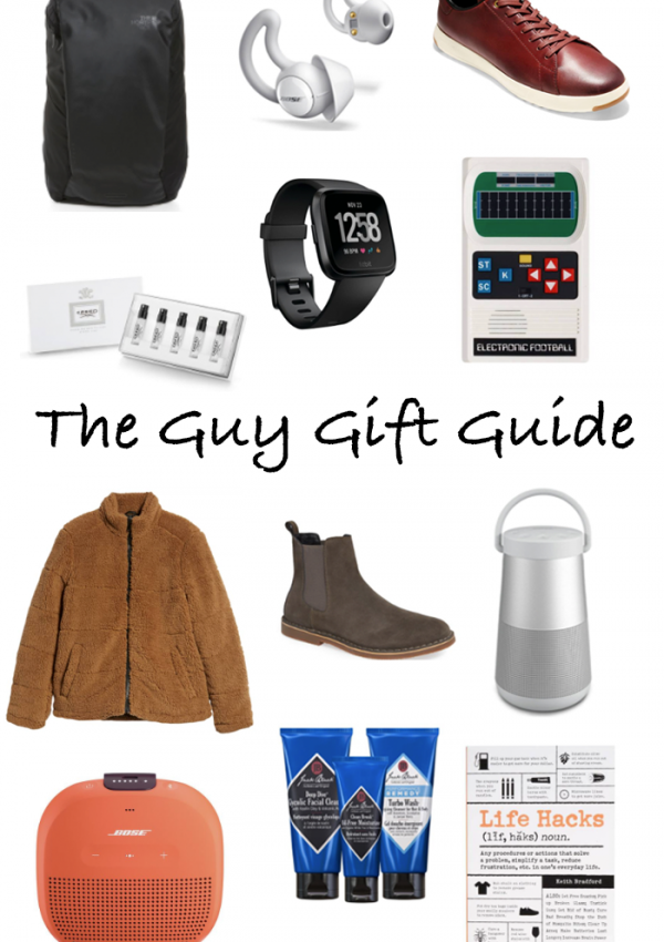 Gift Guide: For The Guys