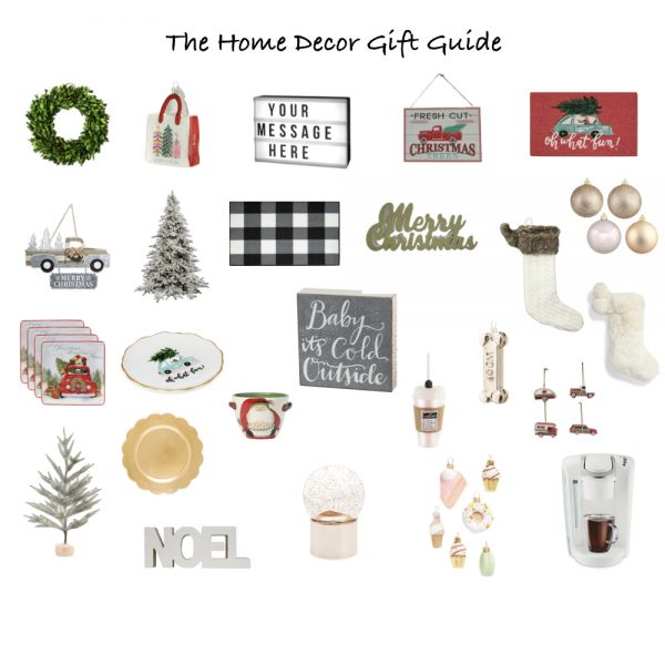 Gift Guide: Christmas Home Decor